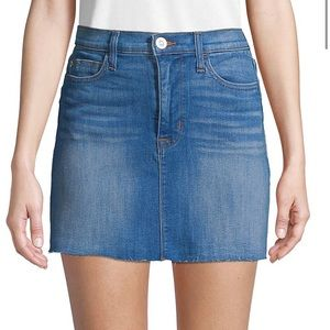Hudson | Vivid Mini Skirt | Blue | Size 32 | NWT